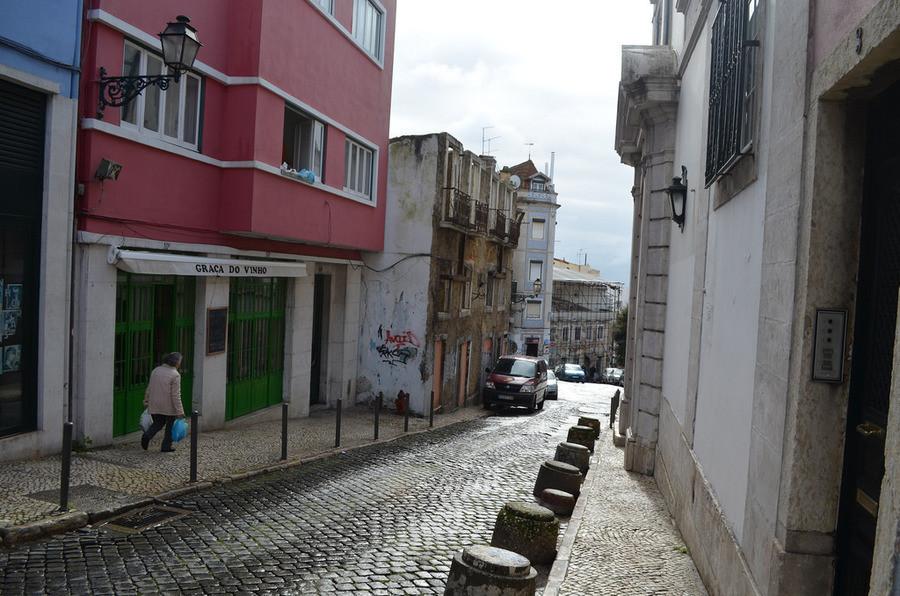 """""""Зимний"""" Лиссабон"""