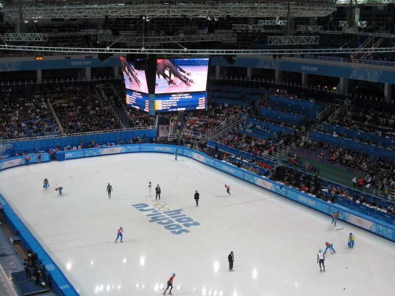 Пять жарких, олимпийских дней. Сочи 2014.