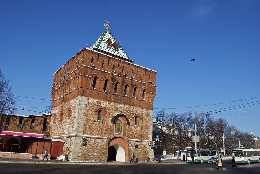 Нижний Новгород зимой