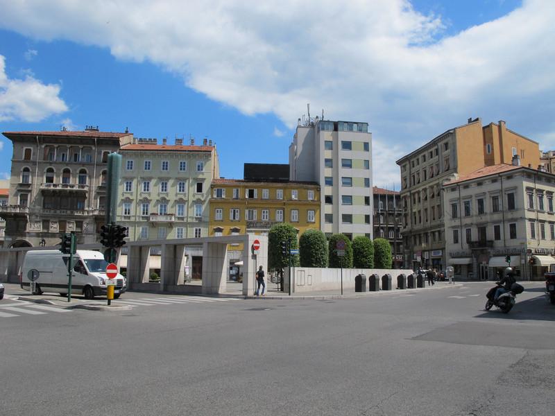Триест - город на итало-словенской границе