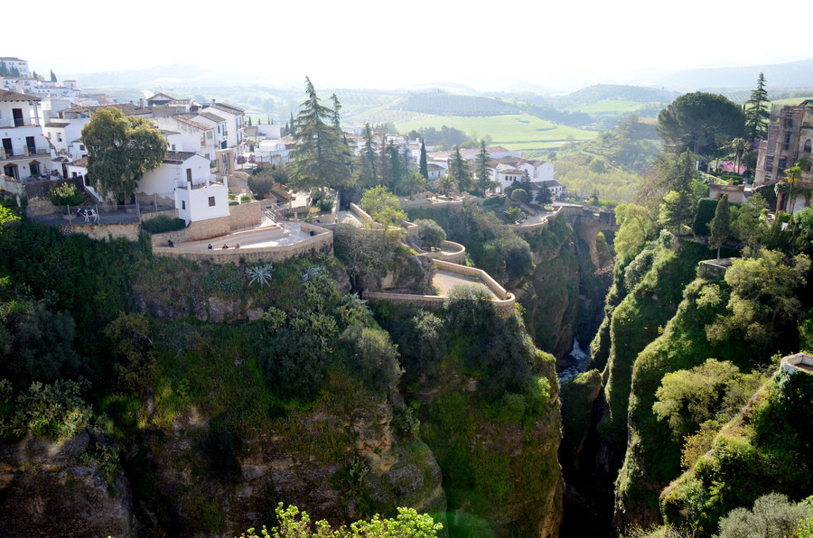 Колоритный испанский городок Ронда