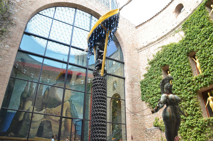 Музей Сальвадора Дали в каталонском городе Фигерасе