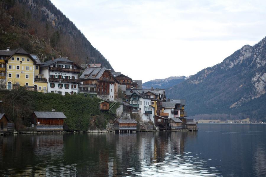 Линц, Гмунден, Хальштатт - январское путешествие по Австрии