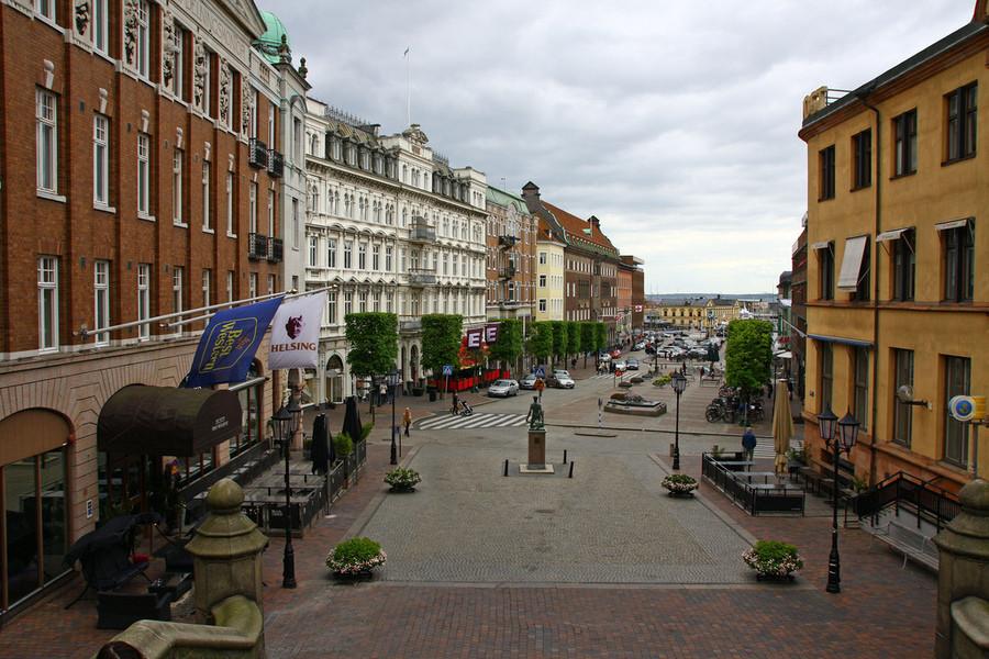 Хельсинборг и дворцовый сад Софиеро