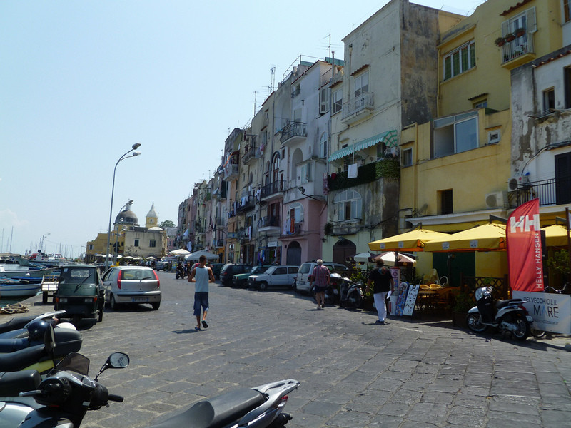 Итальянский остров Прочида