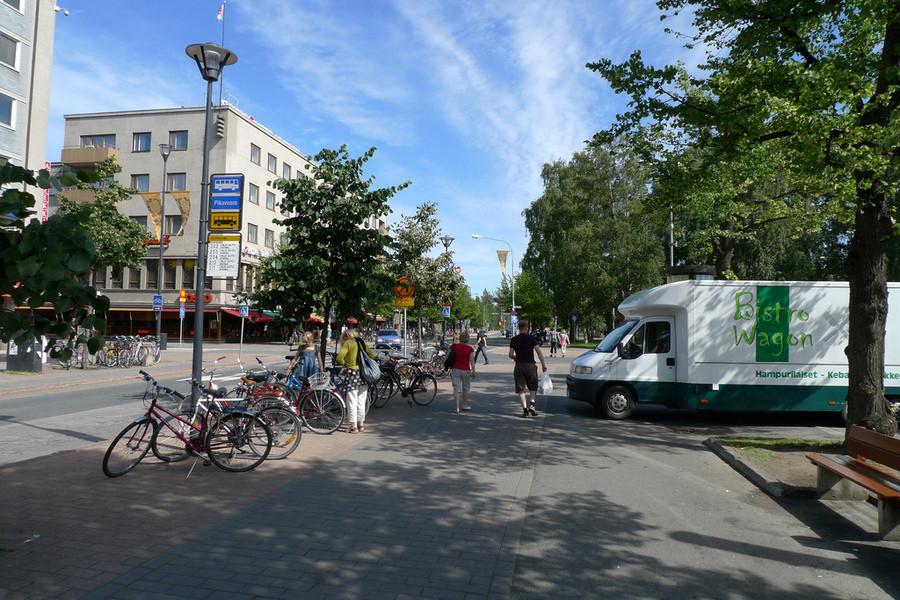 Финский городок Йоэнсуу