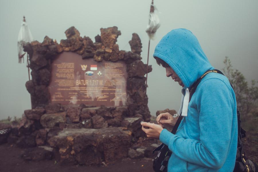 Покорение вулкана Батур