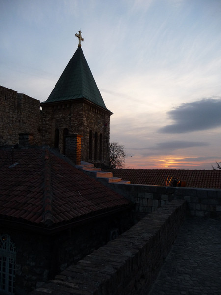 Крепость Калемегдан (Белградская крепость) и Храм Святого Саввы в Белграде