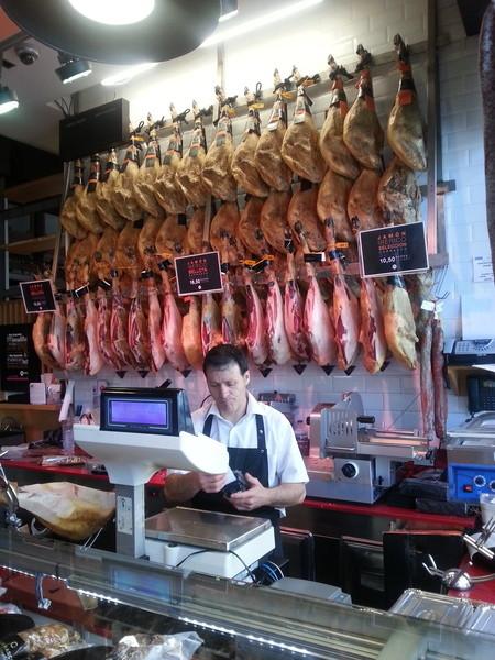 Рынок в Мадриде Mercado de San Miguel. Голодным не смотреть!