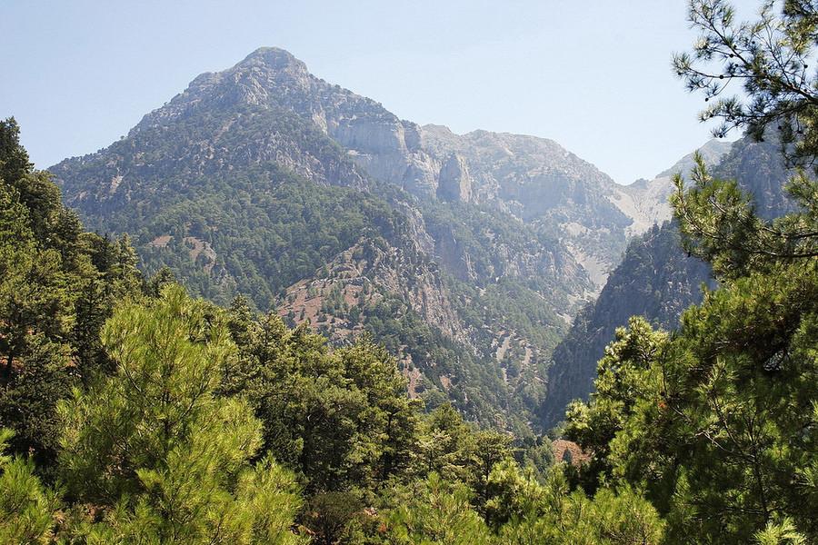 Самарийское ущелье, остров Крит