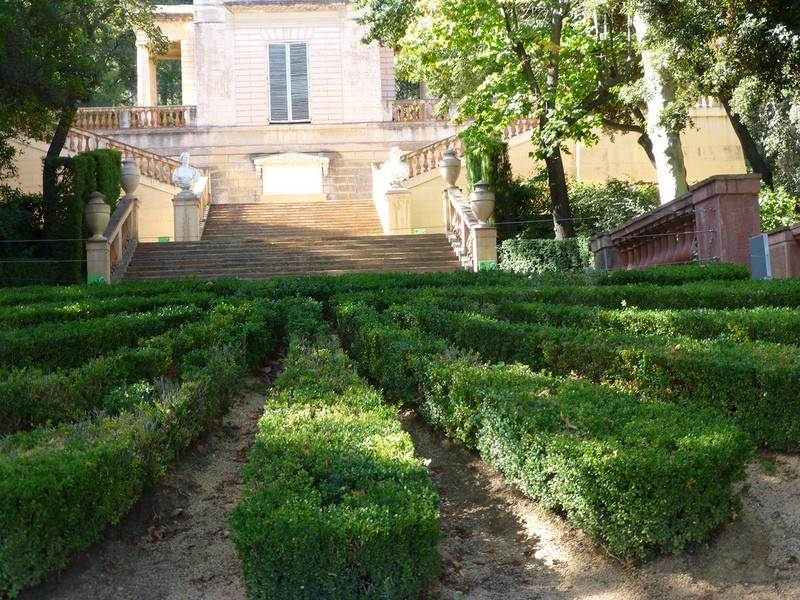"Парк ""Лабиринт Орта"" в Барселоне"