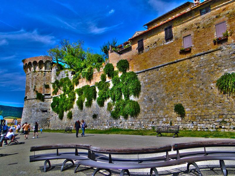 Сан-Джиминьяно - город башен в Тоскане