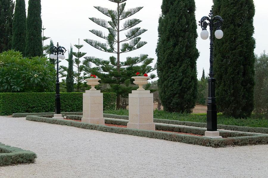 Место паломничества для последователей веры Бахаи, Сады Бахаи в Акко