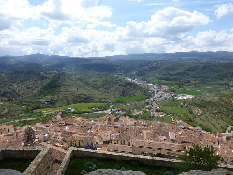 Деревня Морелья в провинции Кастельон