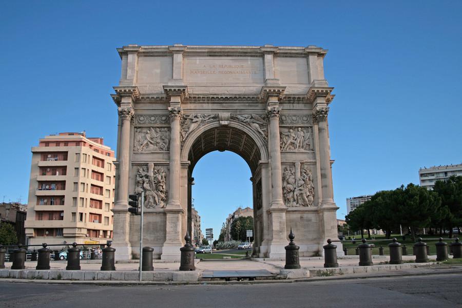 Путешествие по югу Франции. Часть 1. Марсель