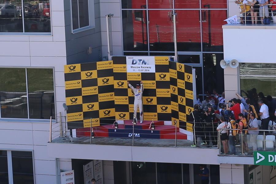 Этап DTM на Moscow Raceway 2014