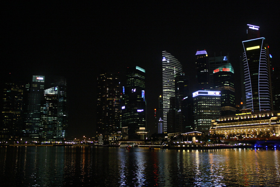 Огни Сингапура