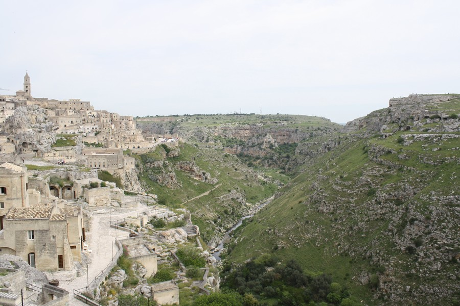 Необычный итальянский город Матера