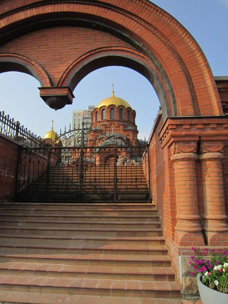 Последний город нашего маршрута - Новосибирск