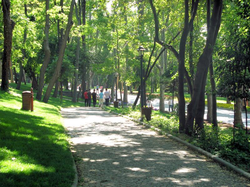 Парк Гюльхане в Cтамбуле