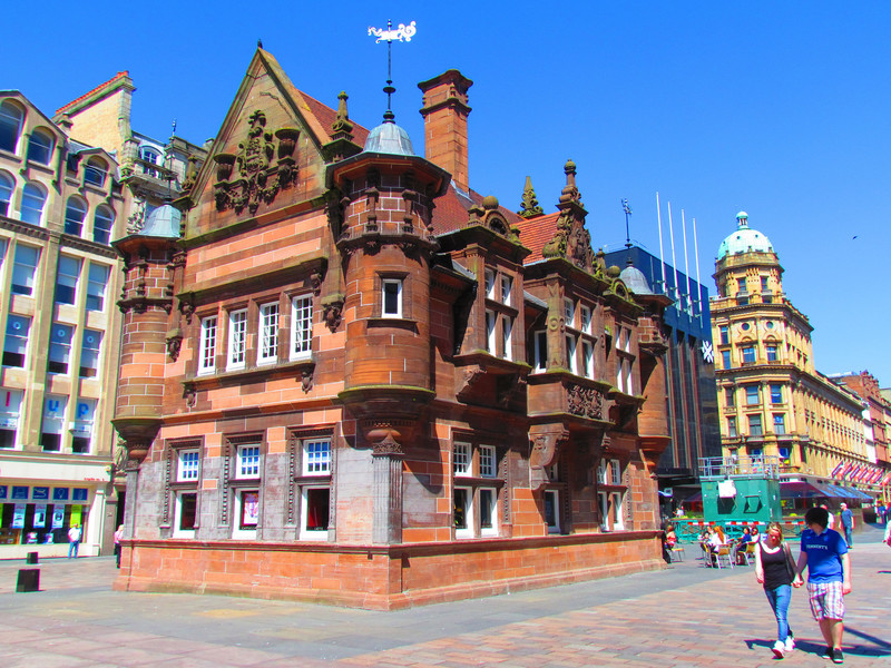 Крупнейший город Шотландии. Глазго