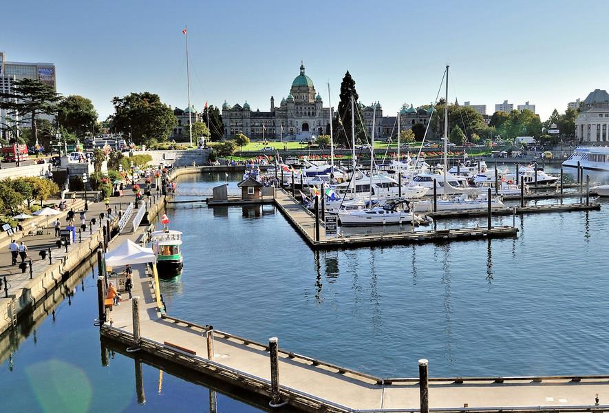 Канадский городок Виктория