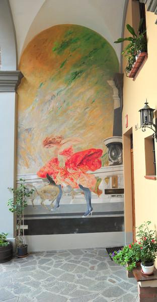 Доцца - художественная галерея под открытым небом