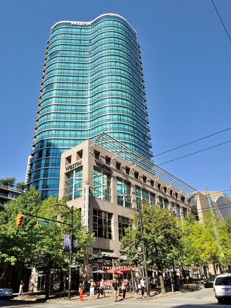 Второй город по маршруту - Ванкувер