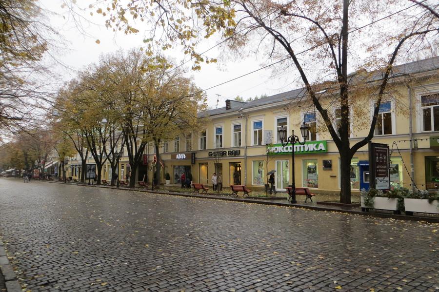 Осенняя Одесса