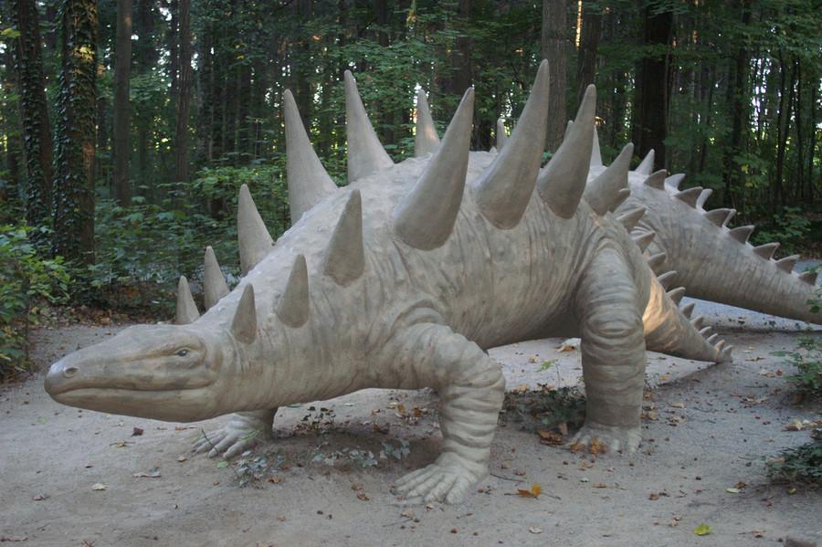Парк динозавров в Кляйнвелька