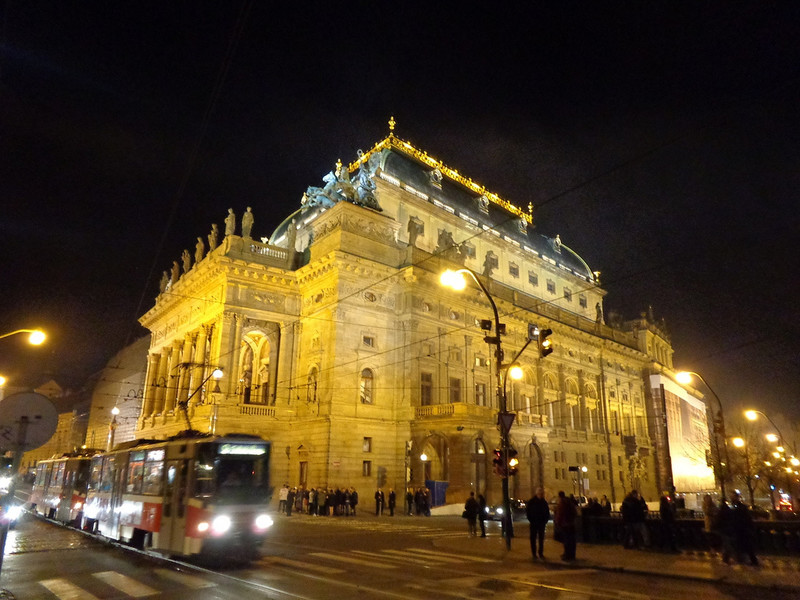 Невероятная ночная Прага