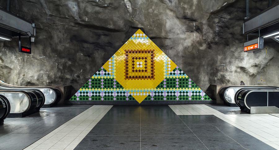 Станции Стокгольмского метро