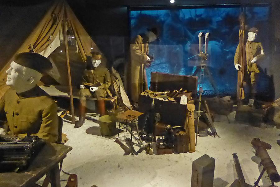 Музей Великой войны во фрацузском Мо