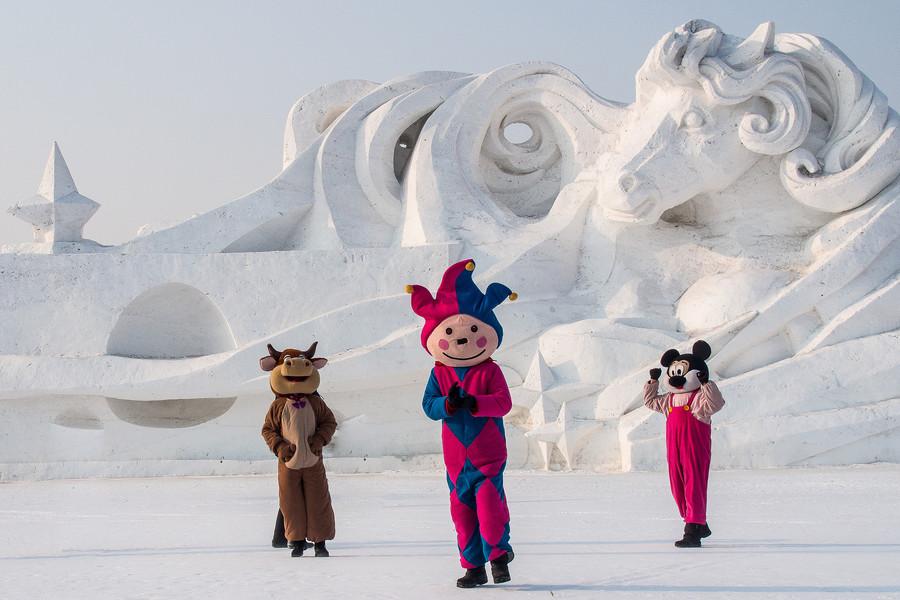 Международный фестиваль снега и льда в Харбине 2014