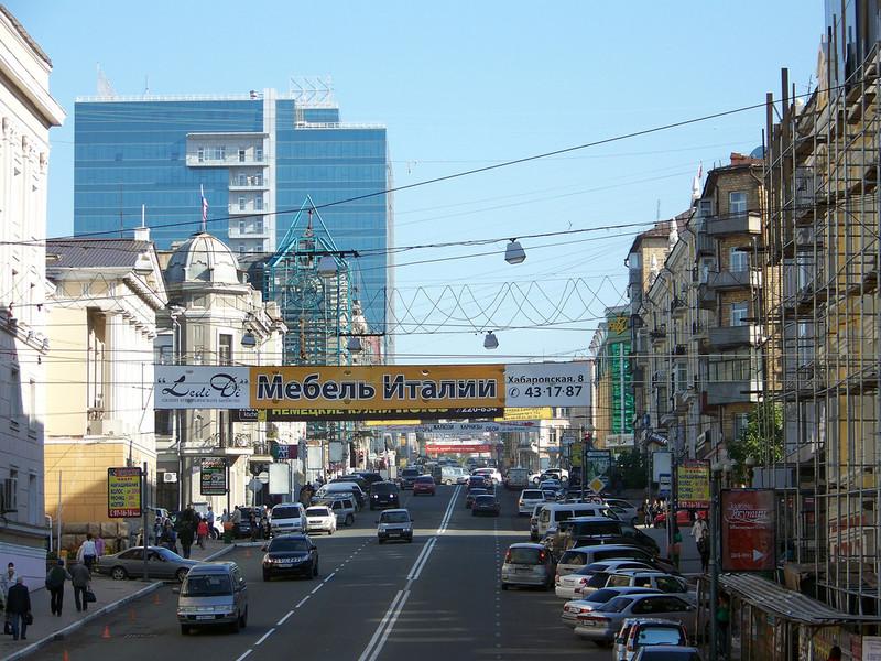 Далекий Владивосток