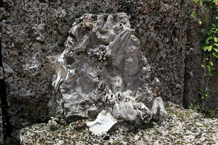 Коралловый замок в США