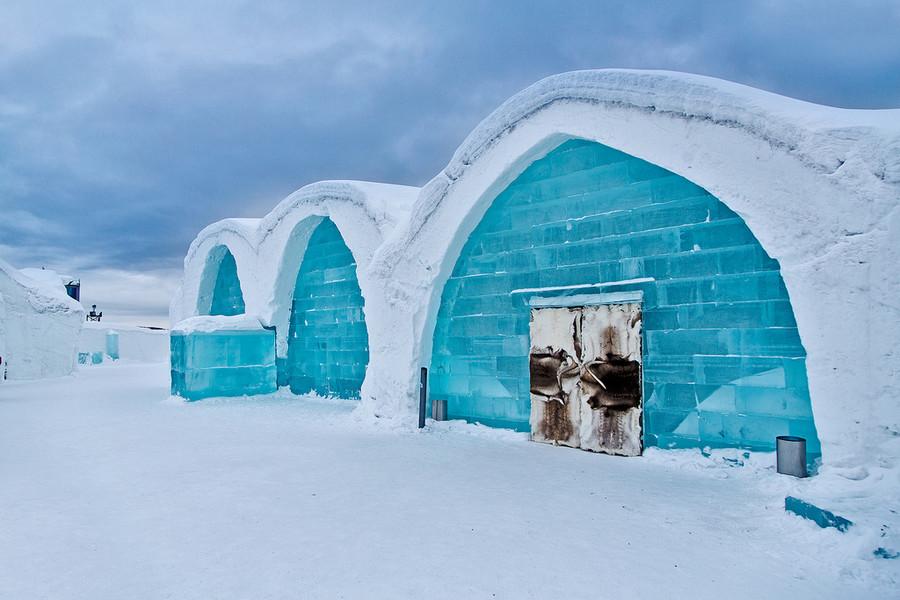 Ледяной отель, Юккасъярви, Швеция