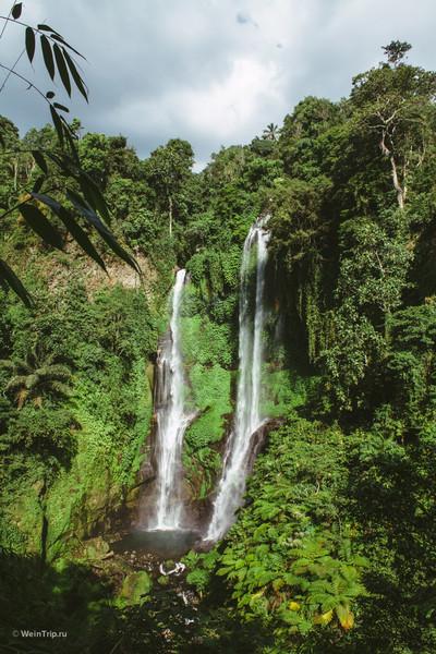 Секумпул — самый большой водопад на Бали