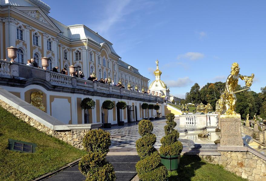 Петергоф  - наш ответ Версальскому дворцу!