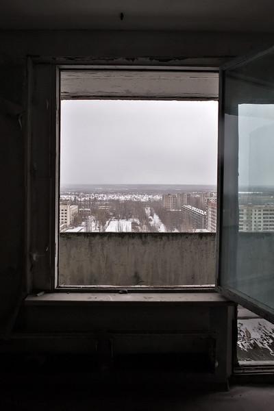Припять. Зима 2008 года