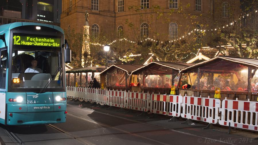 Рождественская ярмарка во Франкфурте