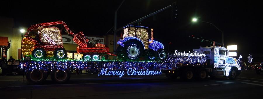 Рождественский парад в Якиме, штат Вашингтон