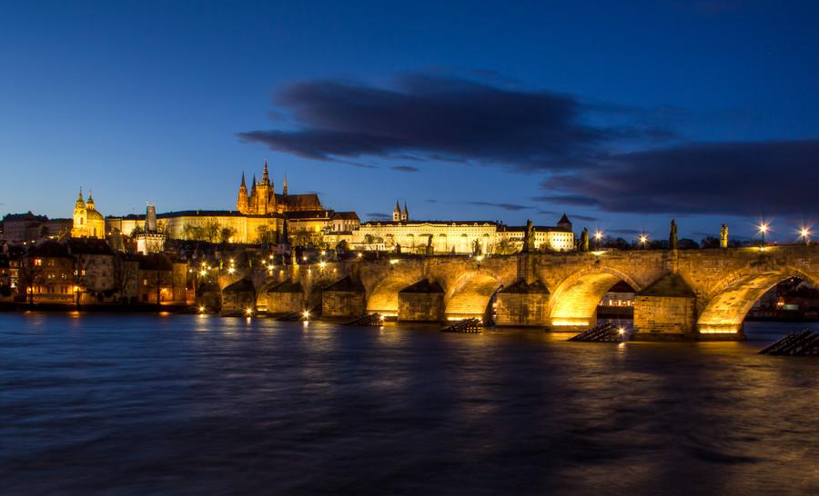 Предновогодняя Прага