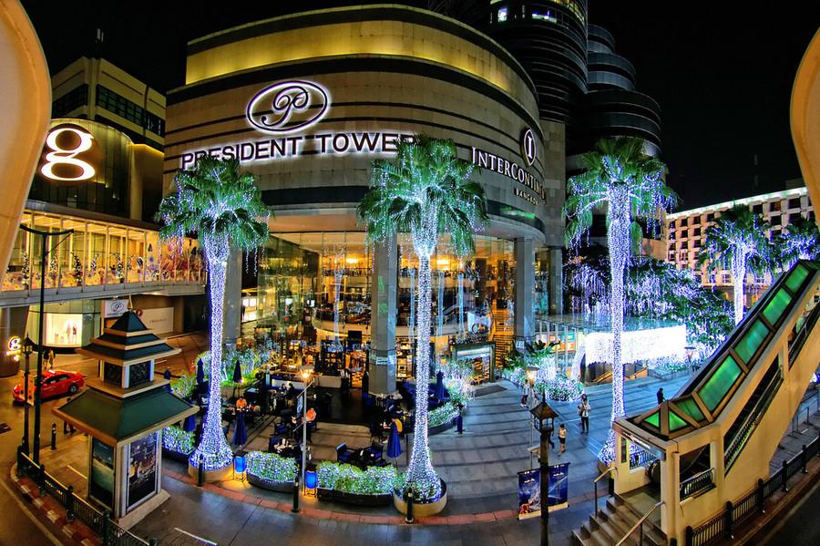 Бангкок. Рождество по-тайски!