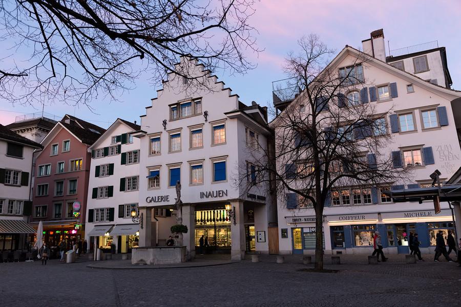 Неделя в Цюрихе!