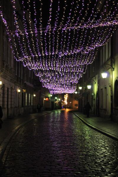 Нарядная Варшава в новогодние праздники!