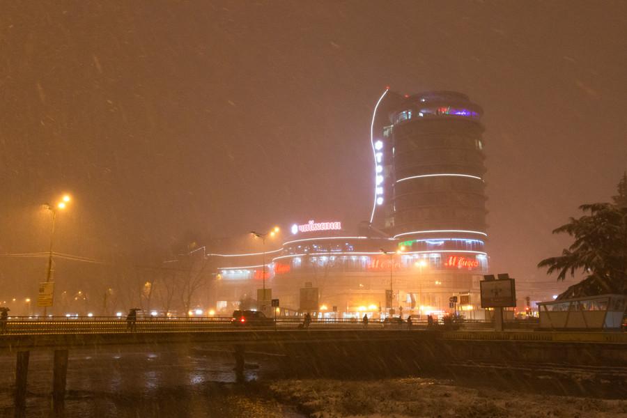 Зима в Сочи