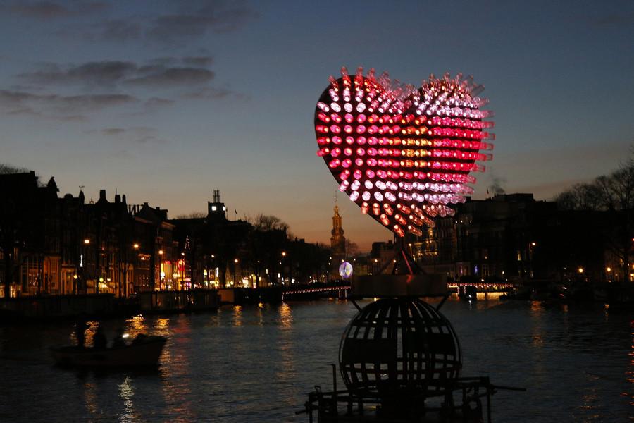 Фестиваль света в Амстердаме 2014/2015