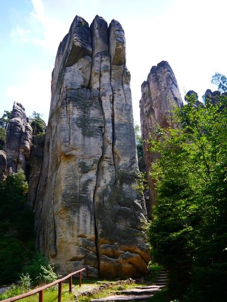 Одно из самых известных мест в Чехии - Праховские скалы