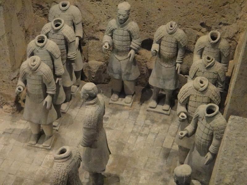 Терракотовые воины Сианя